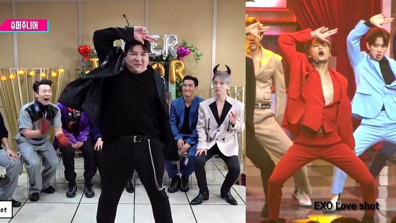 슈퍼주니어 개막장 랜덤플레이댄스 (We have 신동) - 원곡비교영상