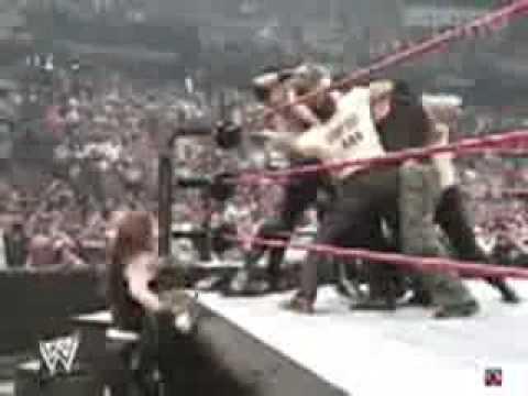 My1 Matt Hardy Attacks Edge On RAW 11th July 2005