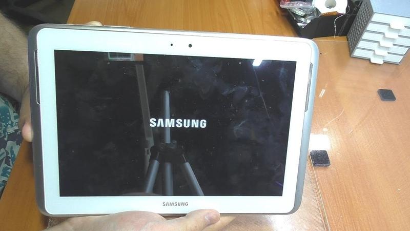 Не загружается планшет Samsung Galaxy Note 10 1 N8000 Замена NAND памяти
