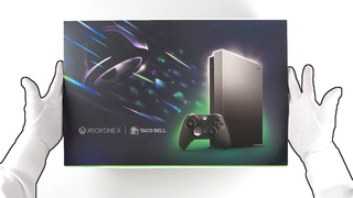 Xbox One X TACO BELL Limited Edition Unboxing! (Eclipse Console Bundle)