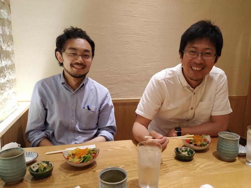 Такаюки (слева) и Сатоши (справа)