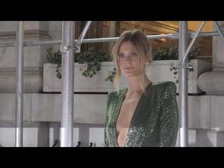 Nina Agdal, Constance Jablonski arrive at Harper s BAZAAR party in NYC