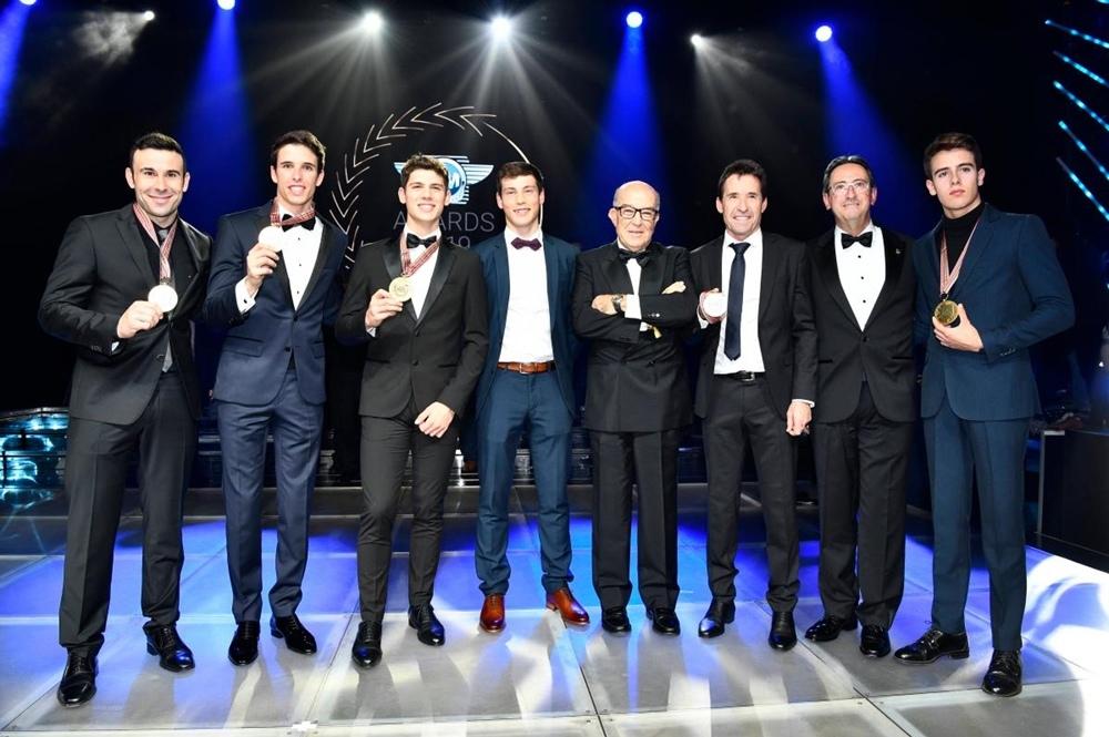 Гала-церемония FIM 2019: чемпионов наградили в Монако