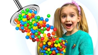 Magic Shower or Keira's MM funny story for kids on Play With Me - Keira Show
