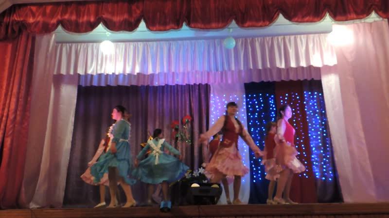 татарский танец анс Гузель
