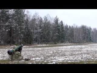 Переносной противотанковый ракетный комплекс fgm-148 джавелин.mp4
