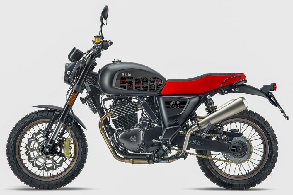 Мотоцикл SWM Ace of Spades 500 2020