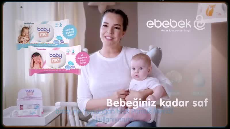 Ebebek Bengü Reklam Filmi baby me Islak Pamuk Mendil