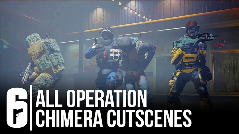 All Operation Chimera Cutscenes - Rainbow Six Siege (All Death/Insertion/Extraction Scenes)