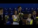 Ice Dance Victory Ceremony Gdansk 2019