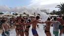 Hotel Iberostar Selection Kantaoui Bay Port El Kantaoui Tunisia MOUSSE PARTY foam