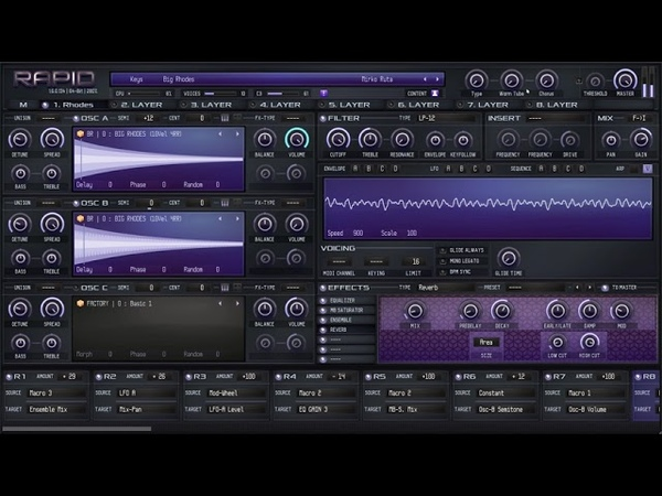 Free Parawave RAPID Preset   Rhodes with 10 velocity steps and 4 x round robin