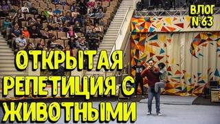 Дан Запашныи и Нижнетагильский Цирк организовали открытую репетиция артистов и их животных