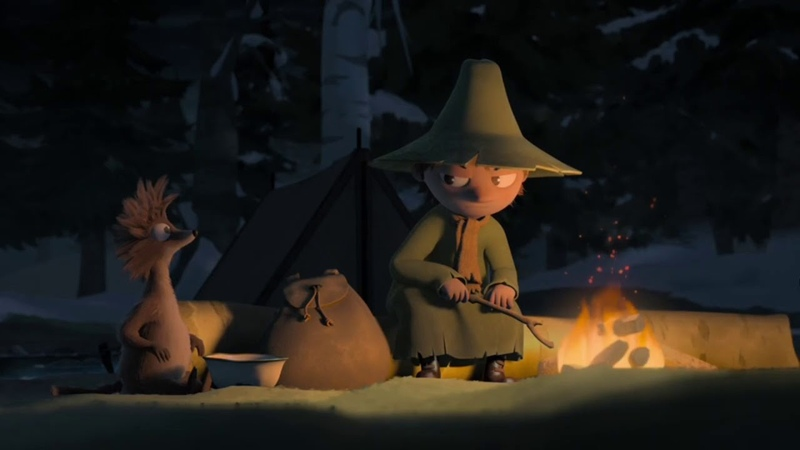 Snufkin being an emo icon for almost 2 minutes