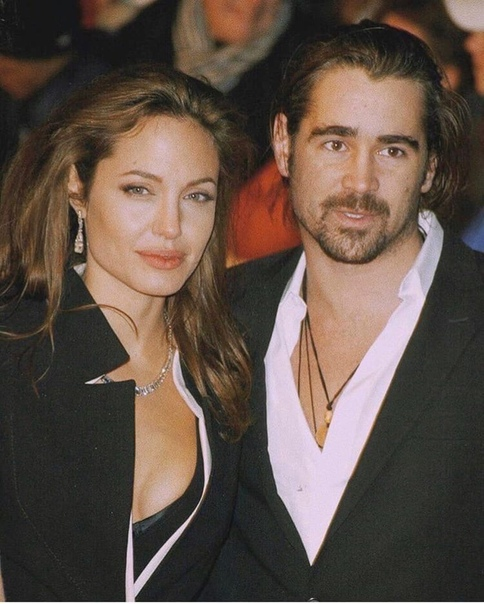 Colin Farrell and Angelina Jolie