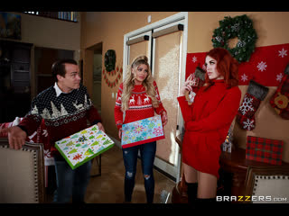 Brazzers - Horny For The Holidays: Part 1 /Jessa Rhodes & Molly Stewart