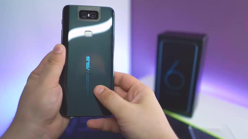 Обзор Asus Zenfone 6 с поворачивающейся камерой. _ QUKE.RU