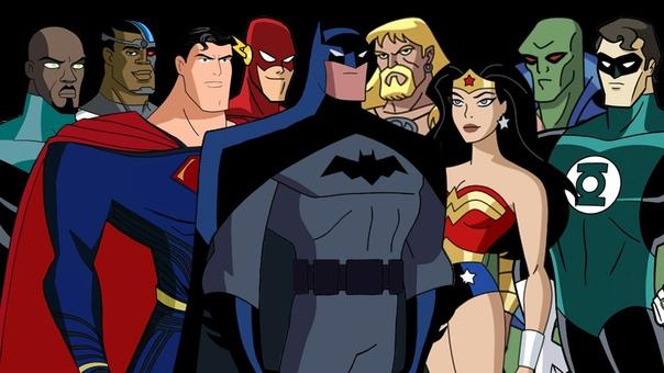 justice league cartoon - HD2560×1440