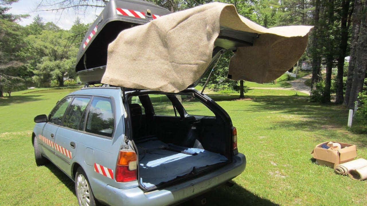 Как сделать навес для автомобиля?