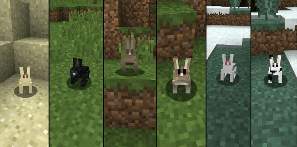 майнкрафт кролики #9