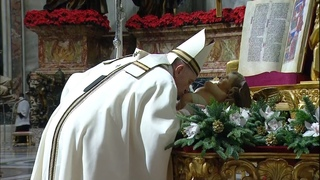 Christmas Midnight Mass with Pope Francis 2020 HD