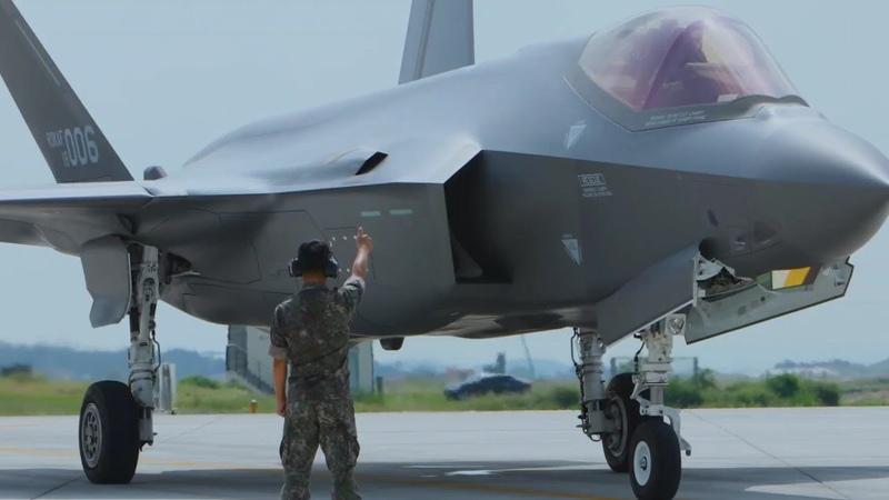 F-35가 북 화성-14형 ICBM을 타격? F-35 스텔스기 전력화를 앞둔 대한민국 공군의 멋진 홍보 영상