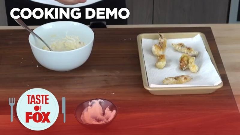 Cook AtHomeWith Nick DiGiovanni Fried Artichoke Hearts TASTE OF FOX