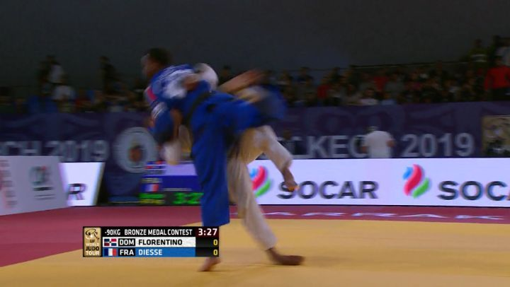 International Judo Federation on Instagram Robert FLORENTINO DOM becomes his country's first male medallist on the IJF tour in style What an a