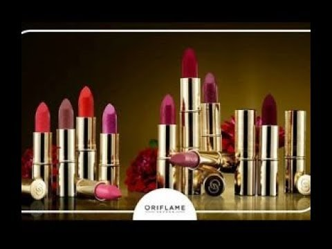 Lipstick with Organ Oil Oriflame Giordani Gold Iconic Lipstick .