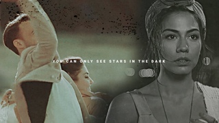 You can only see stars in the dark. | Eda, Serkan, Sanem & Can