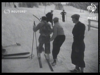 TECHNOLOGY: Chair lifts used in Alps for first time (1936)