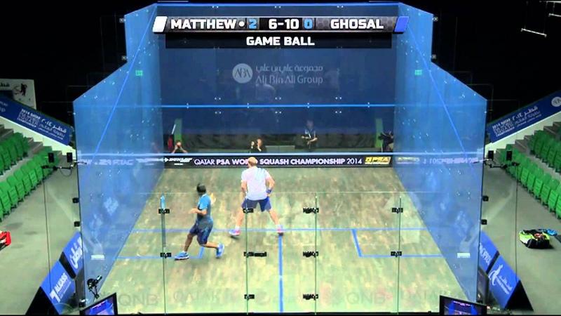 Squash: 2014 PSA World Championship Rd3 Round Up Pt 2