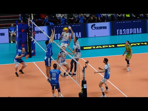 Зенит 3:1 Динамо Москва с трибуны Сибур Арены