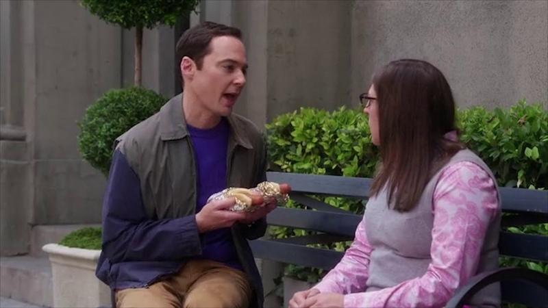 Шелдон и Эми договариваются о сексе. Теория большого взрыва 12 сезон.