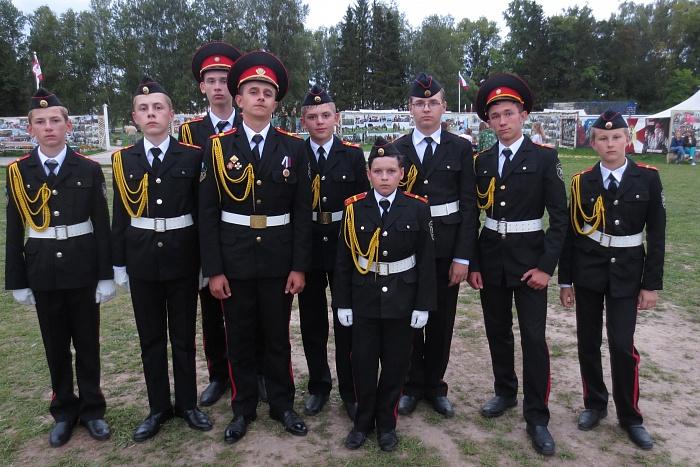 Кадеты 35-й школы Бреста вернулись из Бородино