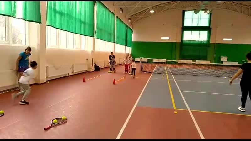 Эстафеты теннисистов тренер Ирина Эдуардовна Гедройц теннис тренировки в Кисловодске КМВ