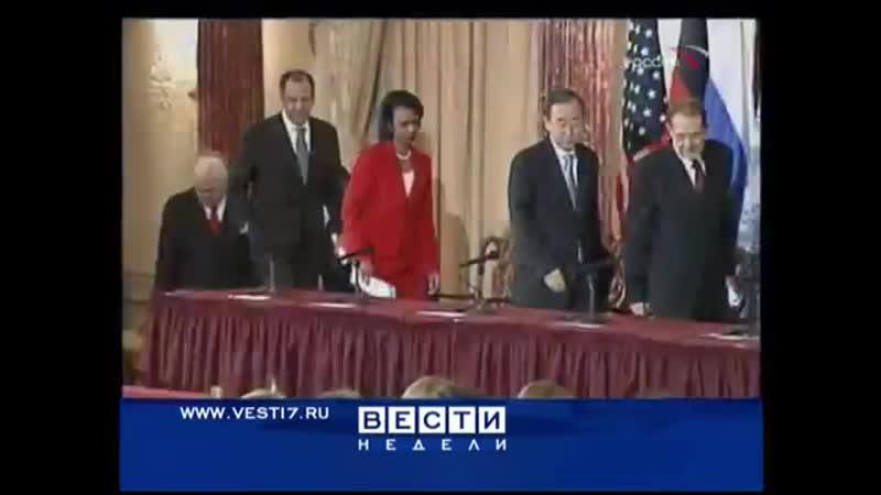 Вести недели Россия 04 02 2007
