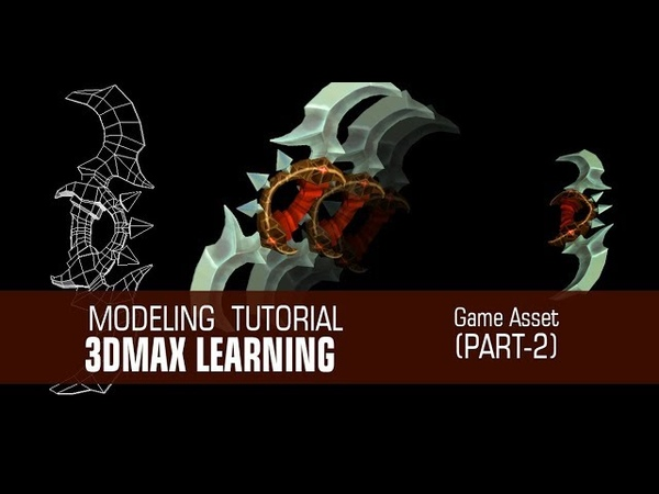 Gaming Prop Modeling In 3dMax with Poly Modeling Part2