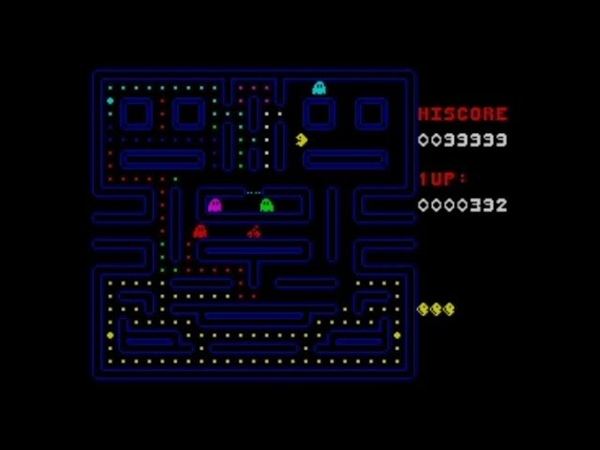 Pac Man The Curse Of The Slimers 50 fps engine 2020 Walkthrough Review ZX Spectrum