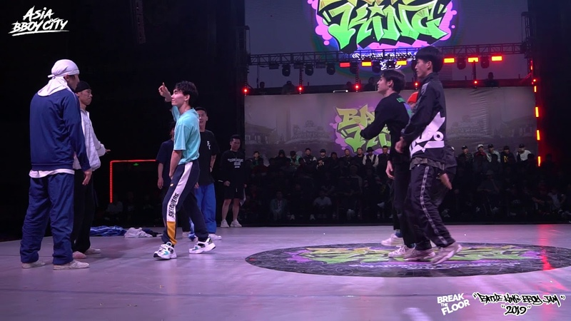 Full Clip vs Skechers All Stars | Semi-Finals | Bboy 4on4 | Battle King 2019 x Break The Floor