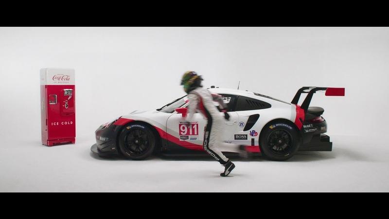 Porsche Coca-Cola Livery Reveal for Michelin Raceway Road Atlanta