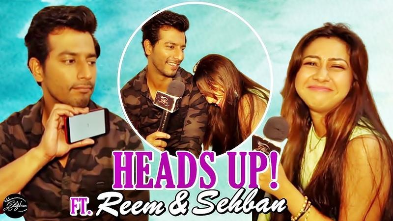 Reem Sheikh Sehban Azim play 'Heads Up' | EXCLUSIVE | Tujhse Hai Raabta | SehReem