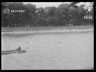 Dogget's Coat and Badge Race on the Thames (1939)