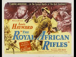 The royal african rifles (los fusileros reales de africa) (1953) (español)