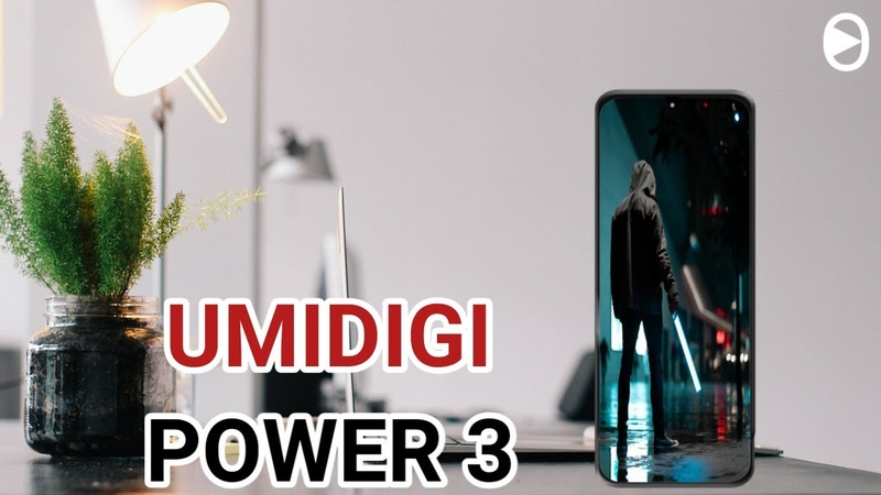 Umidigi Power 3 6150mah Battery Helio P60 48MP Camera