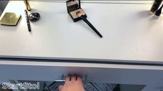 Гримерный стол и гримерное зеркало с подсветкой, обзор