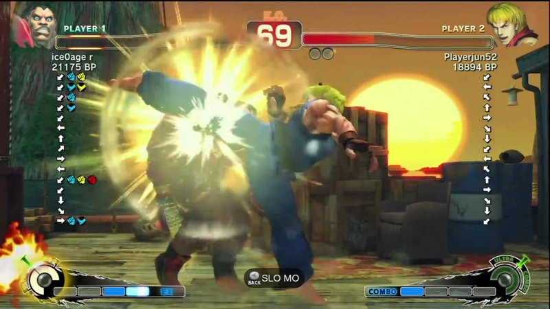 Playerjun52 Ken vs R Balrog SSF4 Japanese Online Ranked Matches TRUE HD