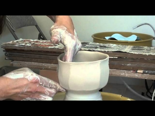 118 Throwing Faceting Teabowls Chawans with Hsin Chuen Lin