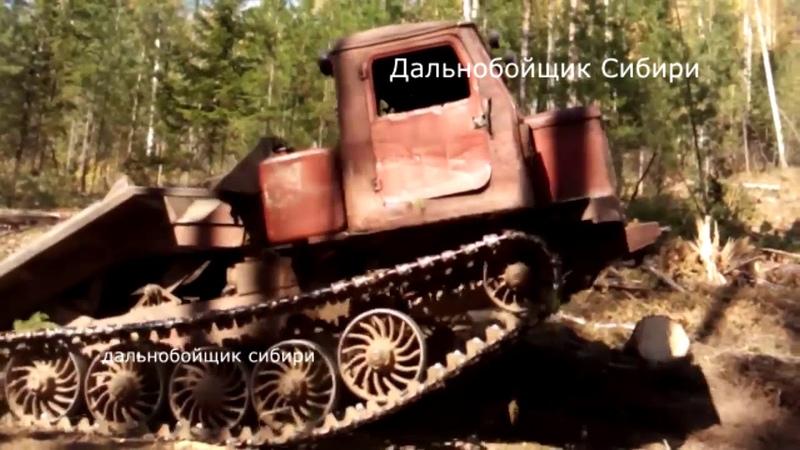 Лесной МОНСТР ТРЕЛЕВОЧНИК ТТ-4
