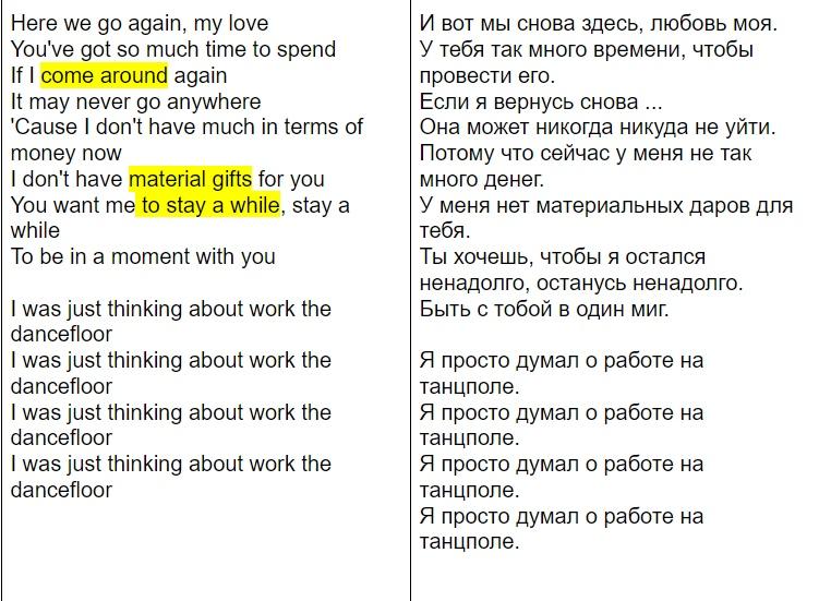 СДЕЛАЙ ПОГРОМЧЕ! About Work The Dancefloor by Georgia, изображение №4